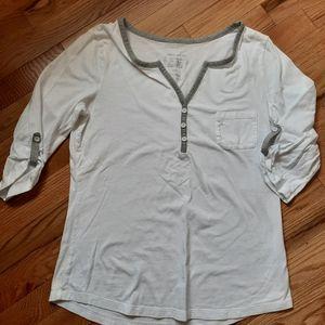 👍3/$12 Cute cotton 3/4 sleeve t-shirt